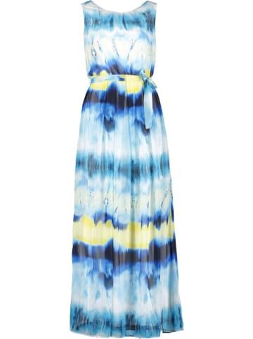 TAIFUN Sukienka w kolorze żółto-niebieskim