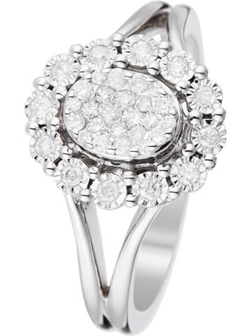 """DIAMOND & CO Złoty pierścionek """"Mon Seul Amour"""" z diamentami"""