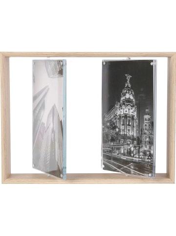 THE HOME DECO FACTORY Ramka w kolorze jasnobrązowym na zdjęcia - 22,5 x 17 cm