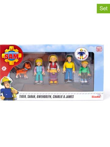 "Feuerwehrmann Sam 5-częściwoy zestaw figurek ""Familiy Jones"" - 3+"