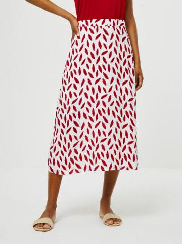 Surkana Spódnica w kolorze czerwono-białym