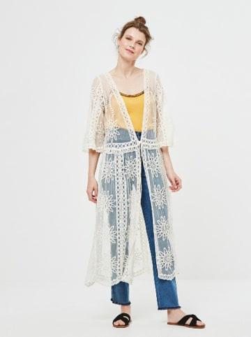 Surkana Kimono w kolorze białym