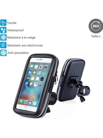 Evetane Smartphone-Fahrradhalterung in Schwarz