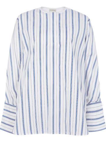 BY MALENE BIRGER Bluzka w kolorze niebiesko-białym