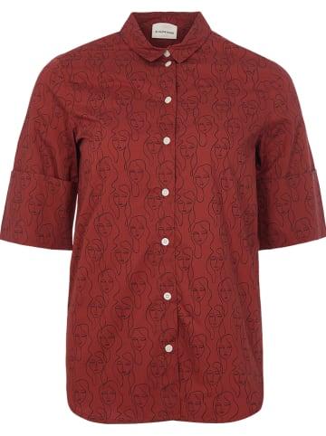 BY MALENE BIRGER Bluzka w kolorze bordowym