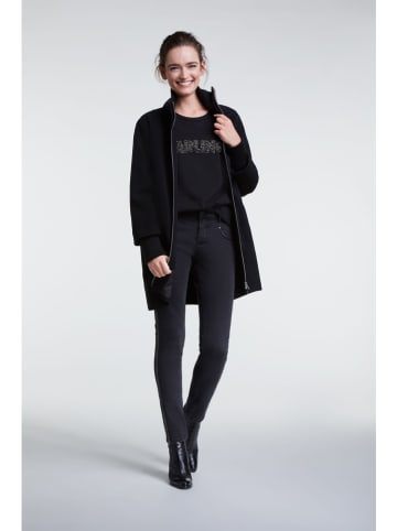 Oui Bluza w kolorze czarnym
