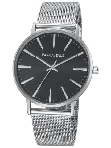 "Park Avenue Zegarek kwarcowy ""Astor"" w kolorze czarno-srebrnym"