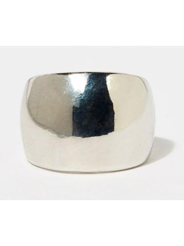 Côme Posrebrzany pierścionek