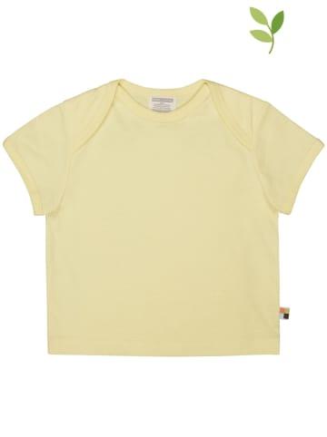 Loud + proud Koszulka w kolorze żółtym