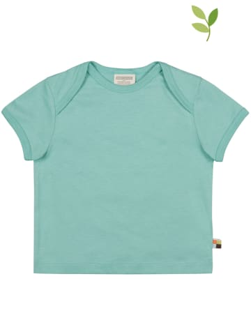 Loud + proud Shirt turquoise