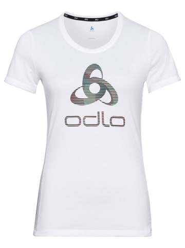 """Odlo Koszulka sportowa """"Element"""" w kolorze białym"""