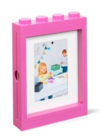 LEGO Ramka w kolorze różowym na zdjęcia