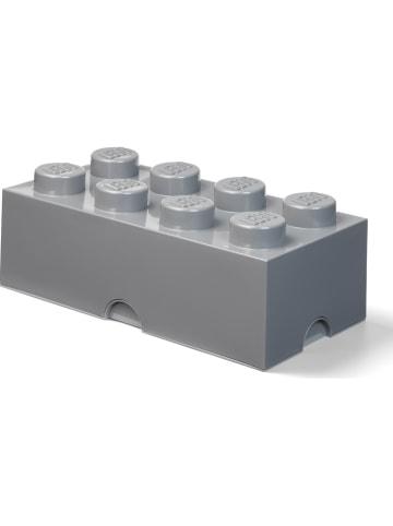 "LEGO Opbergbox ""Brick 8"" grijs - (B)50 x (H)18 x (D)25 cm"