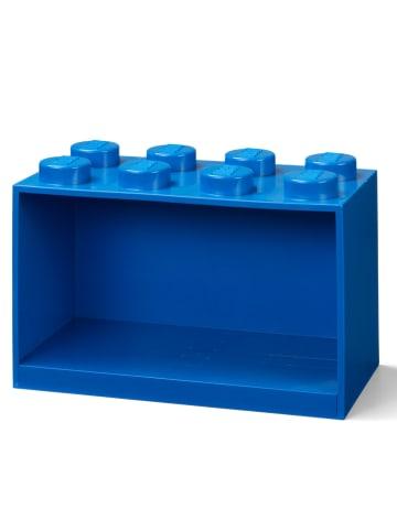"""LEGO Wandmeubel """"Brick 8"""" blauw - (B)32 x (H)16 x (D)21 cm"""