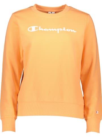 Champion Bluza w kolorze pomarańczowym
