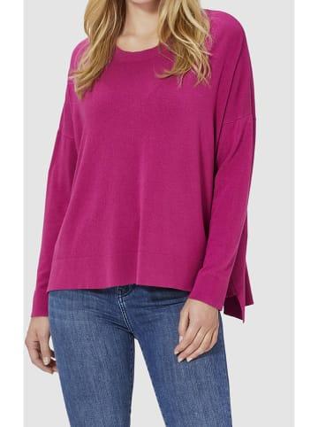Rich & Royal Sweter w kolorze jagodowym