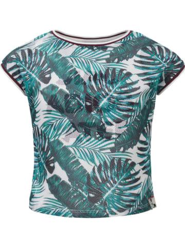 Looxs Revolution Shirt donkergroen/wit
