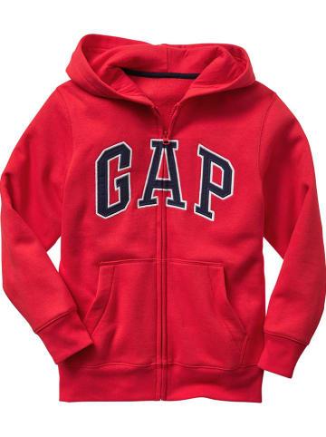 GAP Bluza w kolorze czerwonym