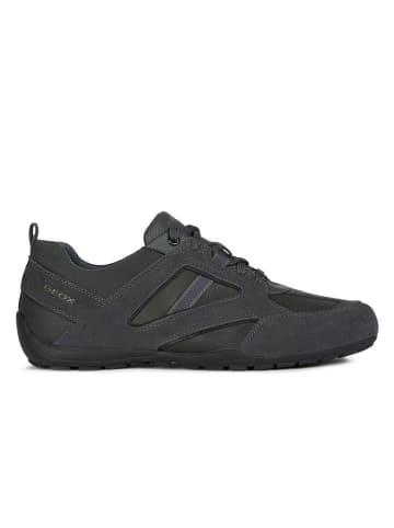 """Geox Sneakersy """"Ravex"""" w kolorze antracytowym"""
