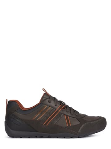 """Geox Sneakersy """"Ravex"""" w kolorze brązowym"""