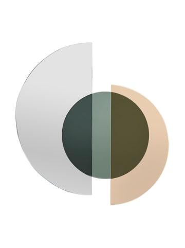 InArt Lustro w kolorze złoto-srebrnym - (S)36 x (W)38 x (G)2 cm