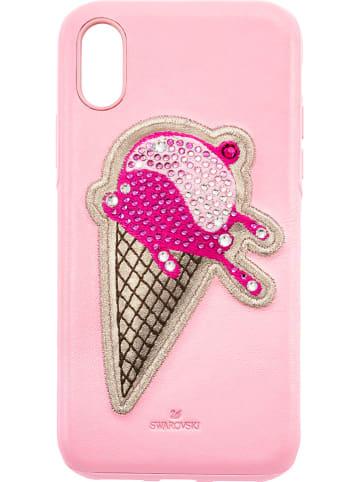 """Swarovski Smartphonecase """"No Regrets"""" für IPhone XR in Rosa"""