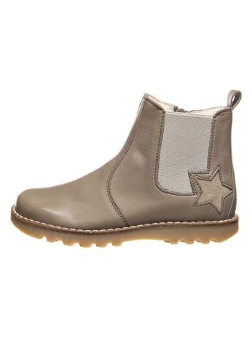 BO-BELL Leder-Boots in Grau