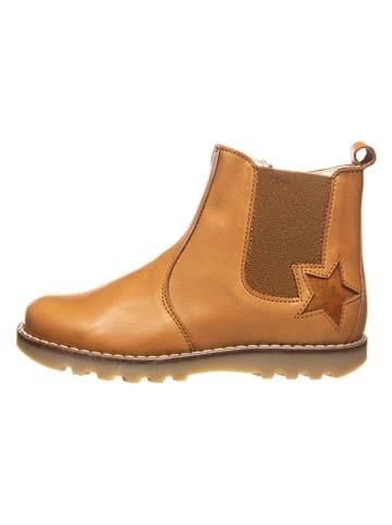 BO-BELL Leren boots camel