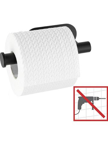 """Wenko Uchwyt """"Orea"""" w kolorze czarnym na papier toaletowy- 16 x 4,5 x 7 cm"""