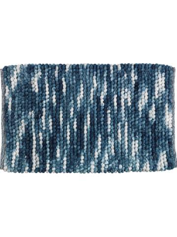 "Wenko Badmat ""Urdu"" blauw - (L)90 x (B)60 cm"