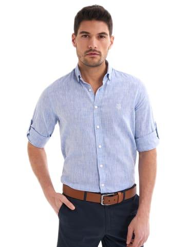 JIMMY SANDERS Koszula w kolorze jasnoniebieskim
