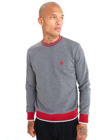 JIMMY SANDERS Bluza w kolorze czerwono-antracytowym