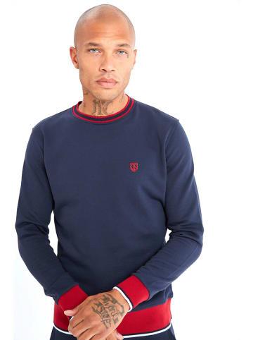 JIMMY SANDERS Bluza w kolorze czerwono-granatowym