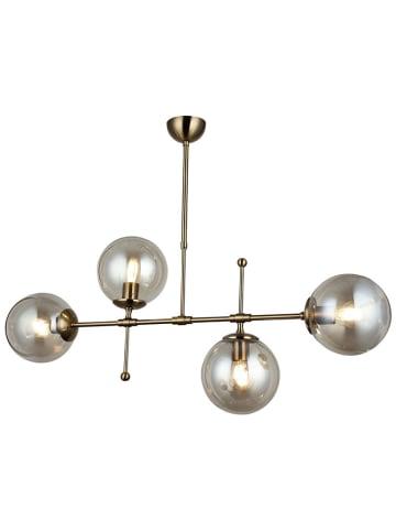 Homemania Lampa wisząca w kolorze złotym - (S)98 x (G)18 cm