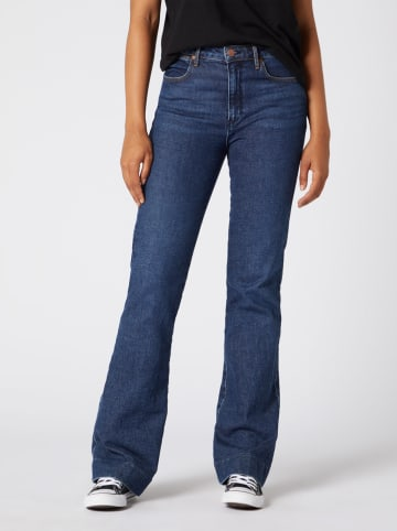 Wrangler Spijkerbroek - skinny fit - donkerblauw