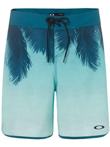 """Oakley Szorty kąpielowe """"Mirage Palm"""" w kolorze turkusowym"""