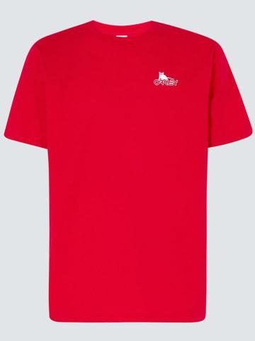 """Oakley Koszulka """"CNY"""" w kolorze czerwonym"""