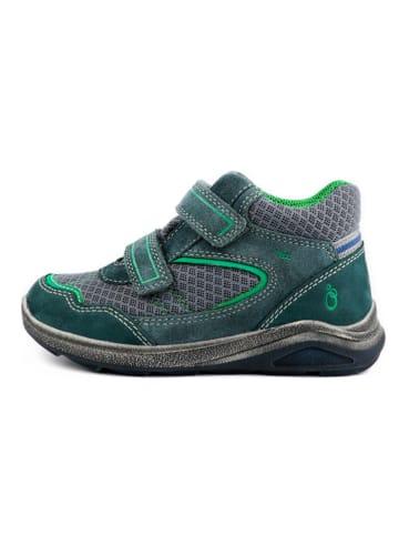 Lamino Sneakers in Dunkelgrün/ Grau