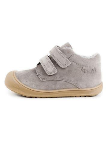 Lamino Leder-Sneakers in Grau