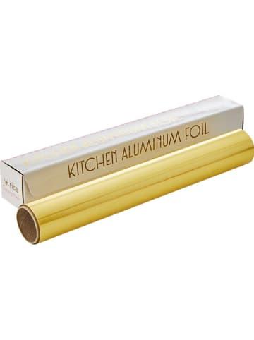 Rice Aluminiumfolie goudkleurig - (L)10 m