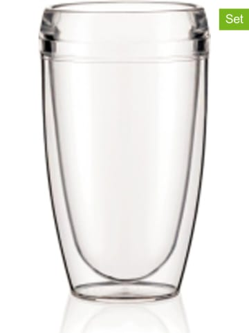 """Bodum 2-delige set: isoleerbekers """"Pavina - Outdoor"""" - 450 ml"""