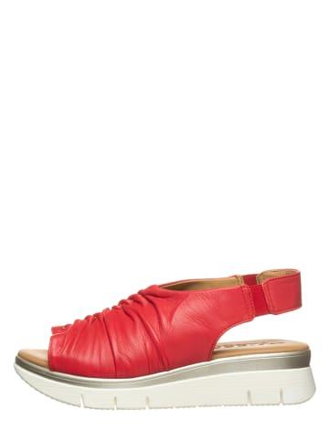 """The Flexx Leder-Sandalen """"Laverne"""" in Rot"""