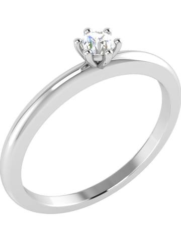 Diamant Vendôme Witgouden ring met diamant