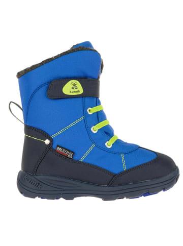 """Kamik Winterboots """"Snowman"""" in Blau"""