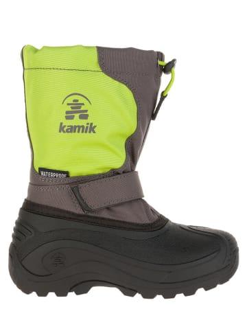 "Kamik Winterstiefel ""Upsurge2"" in Grün/ Grau"