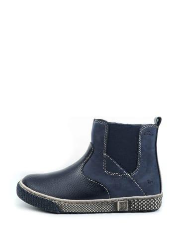 Ciao Leren boots donkerblauw
