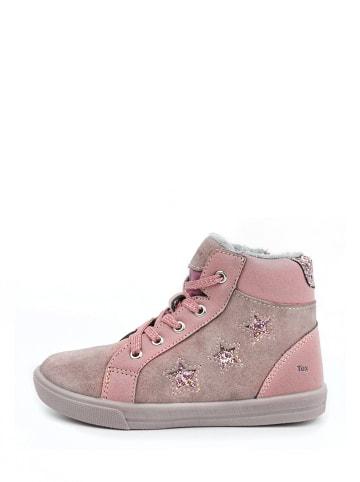 Ciao Leren sneakers lichtroze