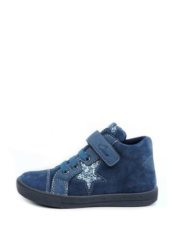 Ciao Leren sneakers blauw