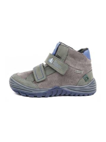 El Naturalista Leder-Boots in Grau