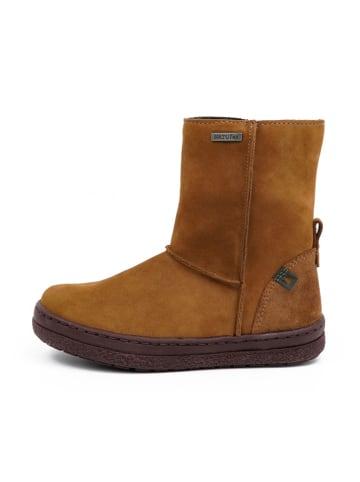 El Naturalista Leder-Boots in Camel